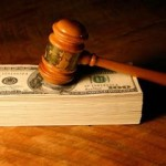 Court settlement with money