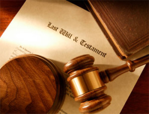 Document of a will