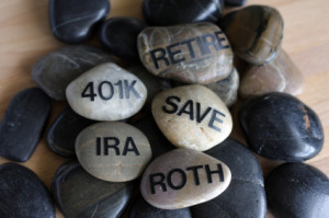 rock pike with IRA and retirement writing